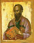 San Pablo en el monasterio de Stavronikita